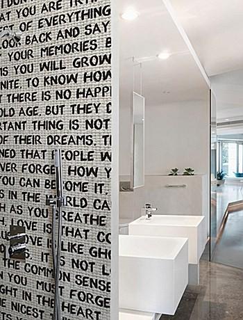 Carta da parati per il bagno carta da parati bagno for Carta parati bagno