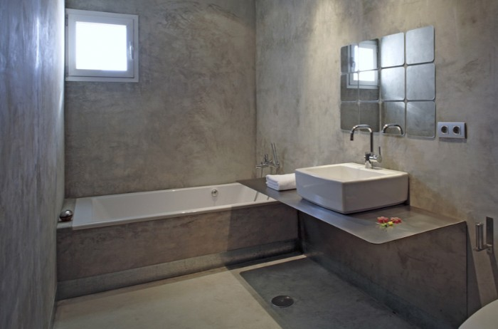 Pavimento in microcemento - Microcemento bagno - Belle ...