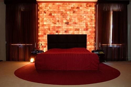 Pareti di Sale - Parete camera da letto in sale himalayano - Belle ...