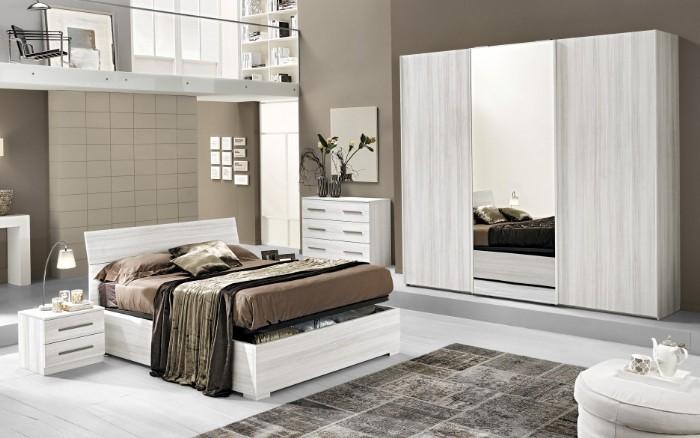Perfect camera da letto camera da letto effetto eucalipto bianco belle dimore arredi e - Complementi camera da letto ...
