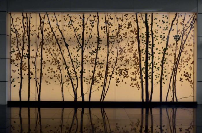 Pareti Esterne Illuminate : Pareti tese luminose parete retroilluminata belle dimore