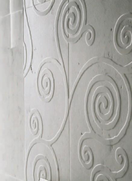 Marmo con decoro a rilievo   marno decoro bassorilevo anticato 2 ...
