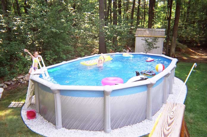 Struttura della piscina piscina fuoriterra belle for Piscina rigida